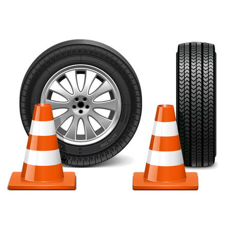 traffic cone: Vector Wheel with Taper