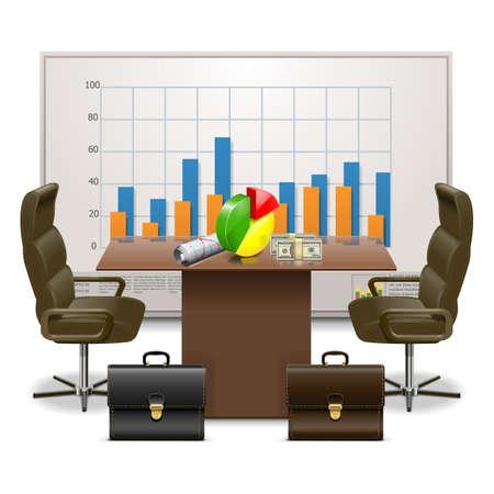 businesslike: Vector Plan de Negocios Concepto