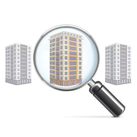 housing search: Vector Vivere Block con lente