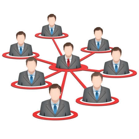 centralized: Vector Business Network