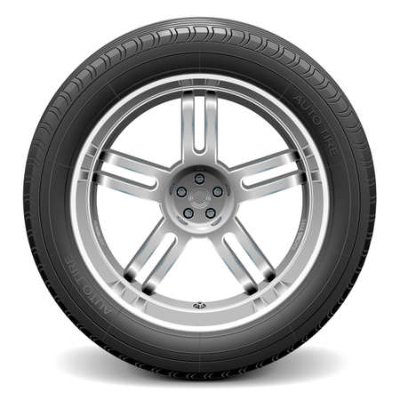 Vector Car Wheel