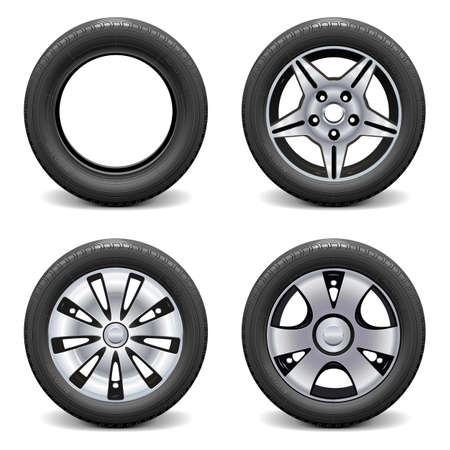 vulcanization: Vector Wheels