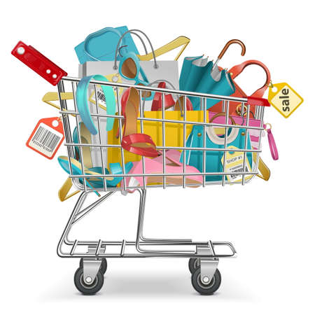 Trolley with Purchases