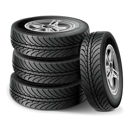 4 wheel: Tires Set