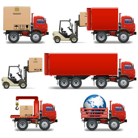 34: Vector Shipment Icons Set 34