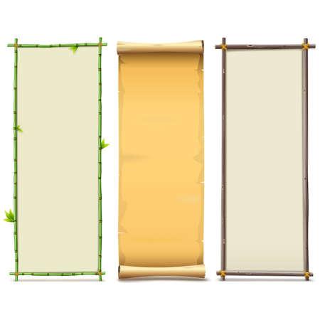 balk: Boards Set 8 isolated on white background