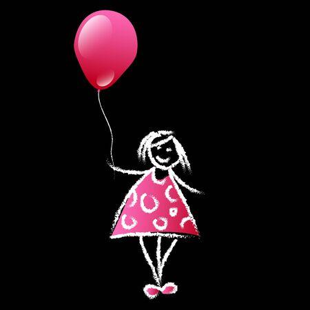 balloon celebration illustration decoration helium holiday