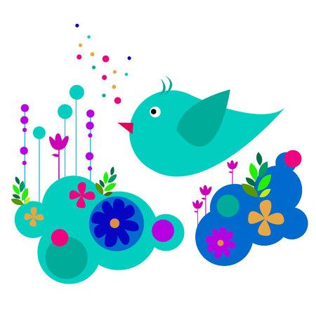 nature illustration bird art design graphic Illustration