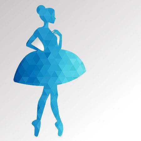 ballerine vecteur ballerine illustration danseuse danse belle robe fille silhouette