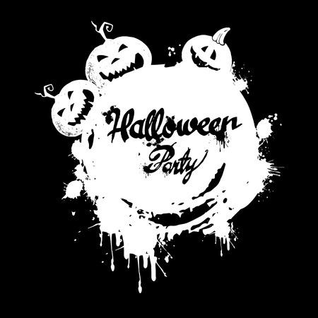 frightful: halloween pumpkin vector autumn holiday orange symbol