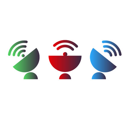dish antenna satellite wireless technology radio