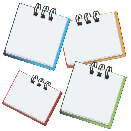 writing pad: pencil vector notebook office notepad icon note