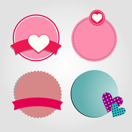 flirting: heart vector red symbol element love icon
