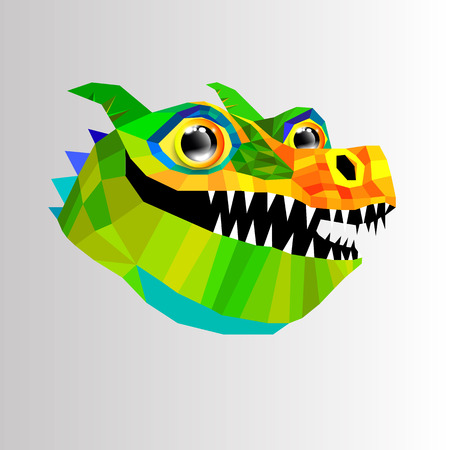 dragon animal monster fantasy vector art illustration mythology cartoon graphic