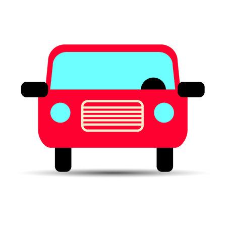 linearity: car vector auto automobile illustration transport vehicle