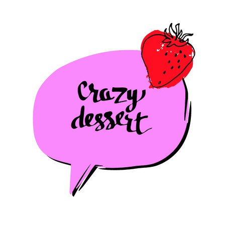 strawberry, berry, fruit, food, vector, organic, fresh, illustration, natura Illustration