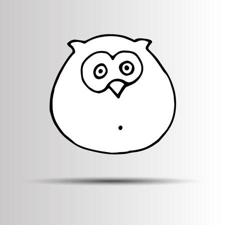 interesting: vector nature illustration bird art design graphic animal style Illustration