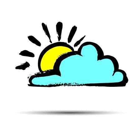 drench: cielo de fondo vector tiempo de la lluvia la naturaleza del clima