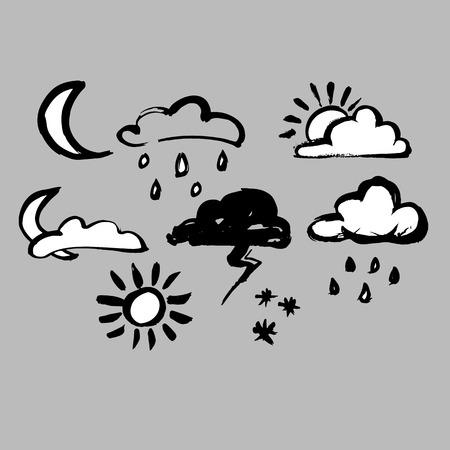 drench: vector sky weather background climate nature rain