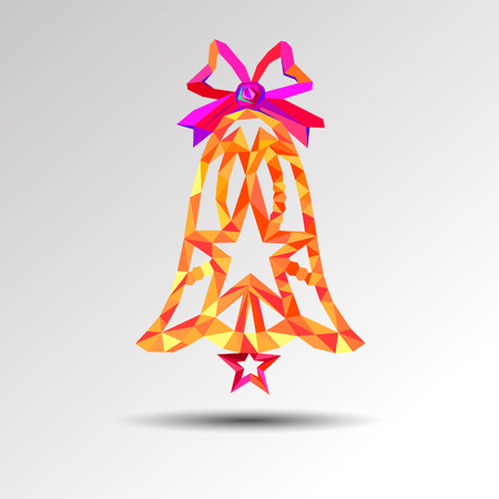 christmas symbol icon celebration vector holiday illustration