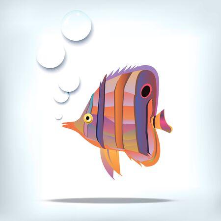 fish vector underwater sea ocean illustration marine Illustration