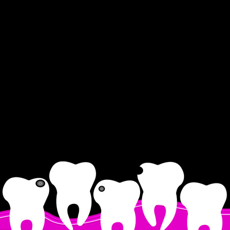 dental dentist tooth vector illustration hygiene medicine clean white care health