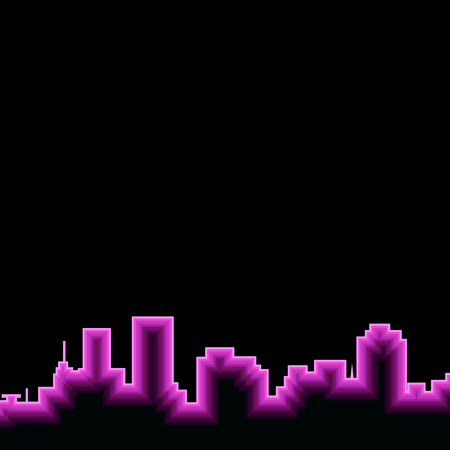 city silhouette vector architecture cityscape abstract illustration downtown Illusztráció