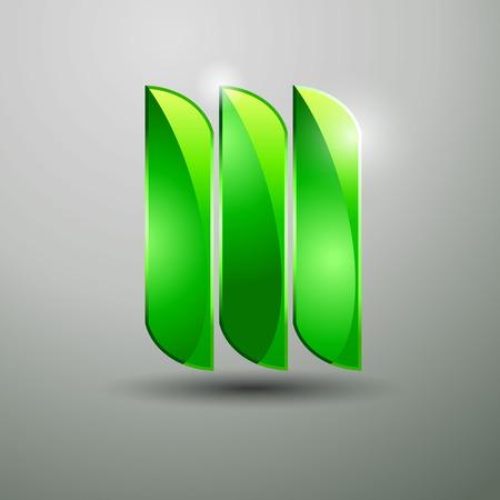 Design Icon Glas Illustration abstrakte Vektor modern