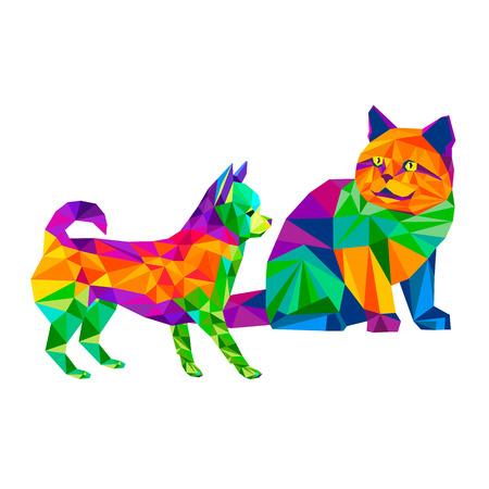 chihuahua: dog chihuahua vector cartoon pedigree friendship small