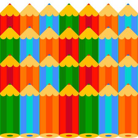 pencil vector illustration design school object art Illustration