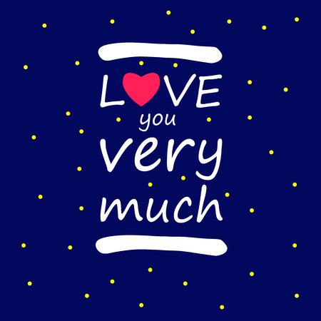 そんなに、愛、シンボル、デザイン、ベクトル、サイン、愛、あなたの背景