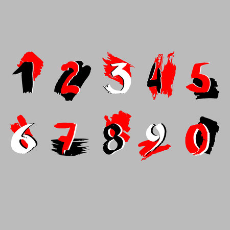 number vector design symbol numeral school sign