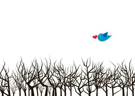 vector nature illustration art design graphic glade
