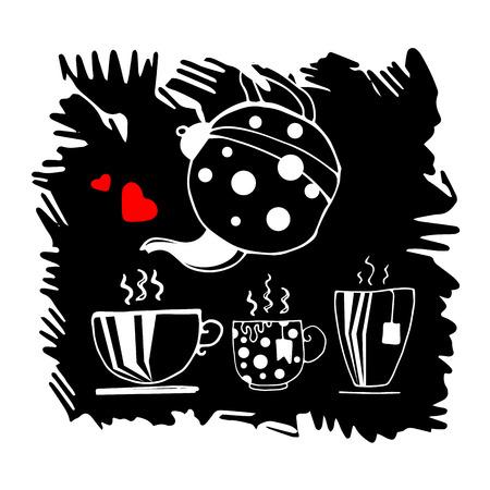 pot, vector, kitchen, brown, aroma, drink, commercial, restaurant