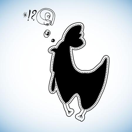chicken, cartoon, hen, animal, cute, illustration, vector, child, bird, egg