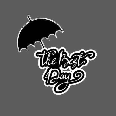 paper umbrella: umbrella, rain, cloud, weather, vector, season, sky, illustration, nature, design