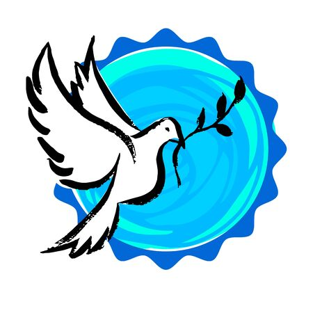 Set Of Symbols For The International Day Of Peace Royalty Free