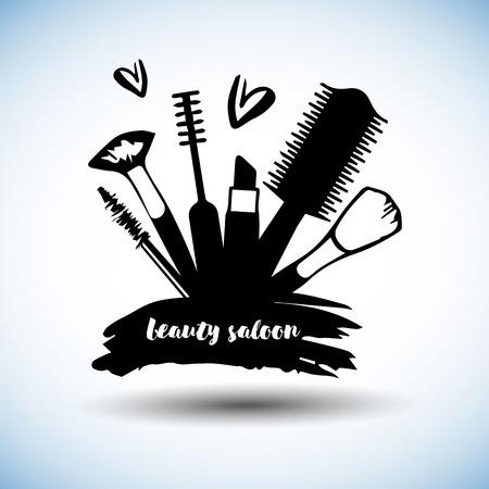 mascara, ombretto, collezione, bellezza, trucco, crema, cipria, profumo, elemento