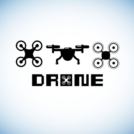 drone, technology, vector, aerial, fly, icon, camera, helicopter, control, innovation