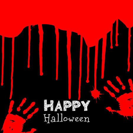 blood, red, drip, background, scary, crime, death, drop, halloween, horror, murder Illustration