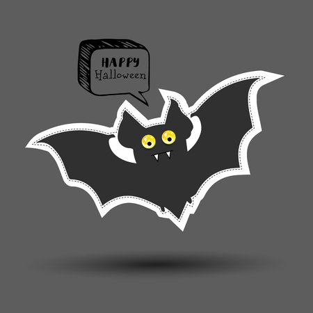 vector, halloween, night, moon, horror, bat, background, october, spooky, design, autumn