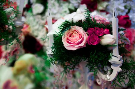 commit: wedding bouquet.