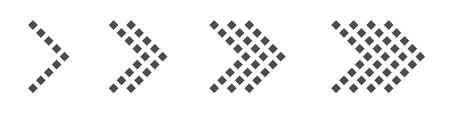Arrow icon set. Arrows, direction cursor click elements Pointer signs Vector illustration  イラスト・ベクター素材