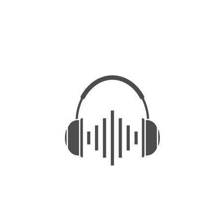 Wireless Headphones vector icon. DJ symbol, Vector illustration Banque d'images - 133308296