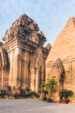 Great old brick temple complex PoNagar, Vietnam