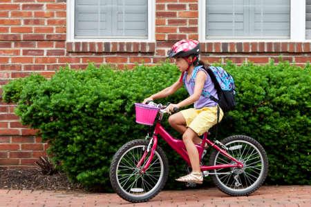 May 9, 2012 - Arlington, Virginia, USA - National Bike to School Day, Key School Escuela Key Elementary  Credit Image  © Dasha Rosato  Stock Photo - 13651614