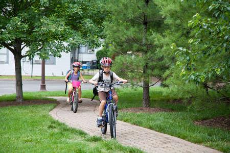 May 9, 2012 - Arlington, Virginia, USA - National Bike to School Day, Key School Escuela Key Elementary  Credit Image  © Dasha Rosato  Editorial