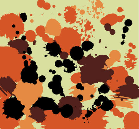Color blots background. Abstract blots composition.
