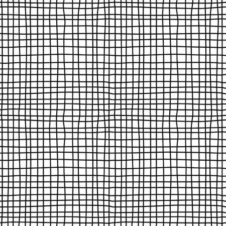 Toile texturée. seamless noir et blanc. Vector illustration. EPS8 Banque d'images - 45812148