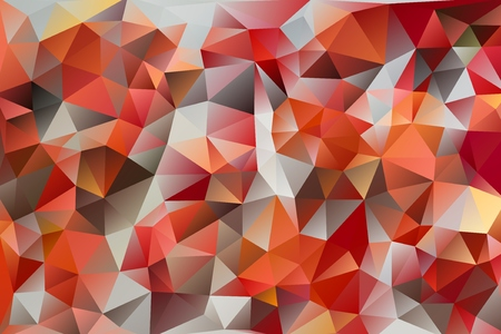 multicolored abstract background of effect geometric triangles Stock Photo